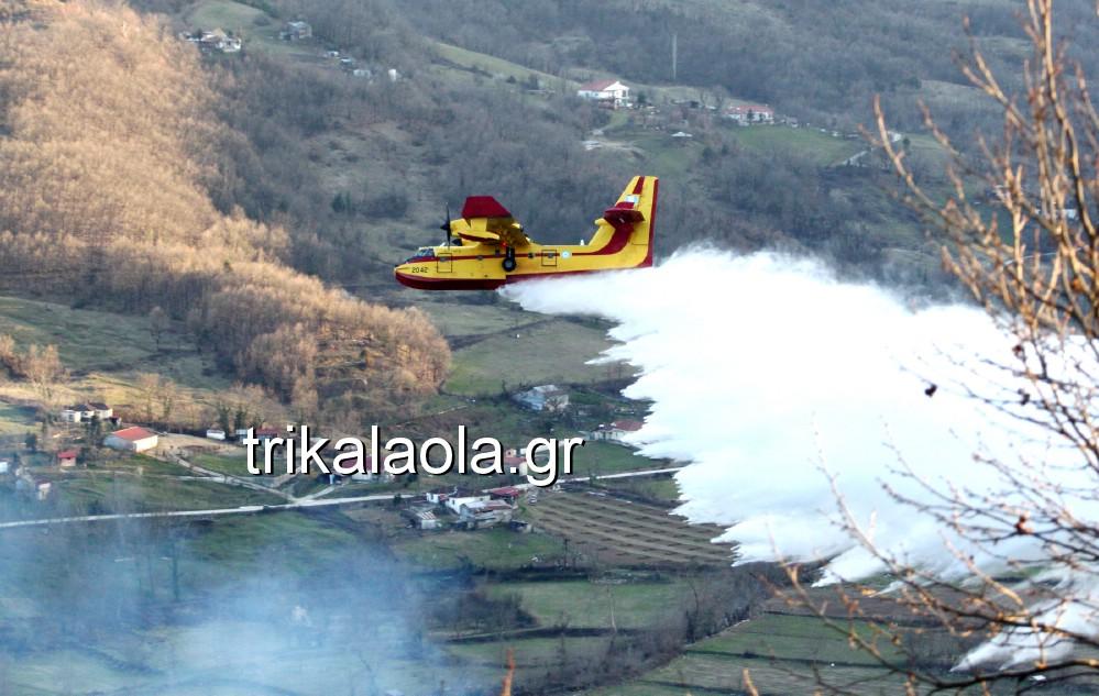 fotia loggies pylh trikalon 2019 48 - Μεγάλη καταστροφική φωτιά σε ορεινή περιοχή του δήμου Πύλης Τρικάλων.