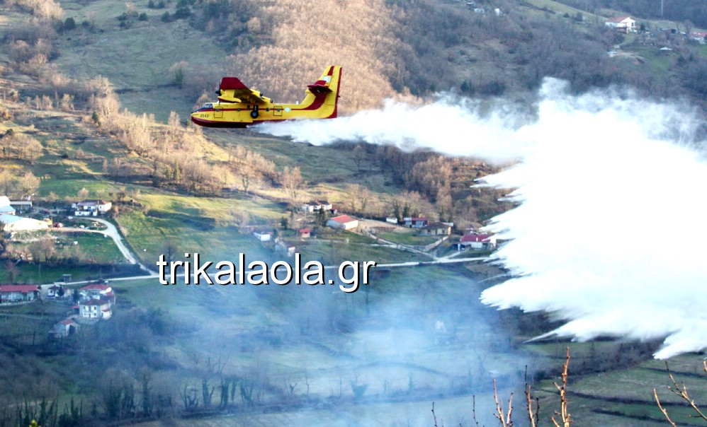 fotia loggies pylh trikalon 2019 49 - Μεγάλη καταστροφική φωτιά σε ορεινή περιοχή του δήμου Πύλης Τρικάλων.