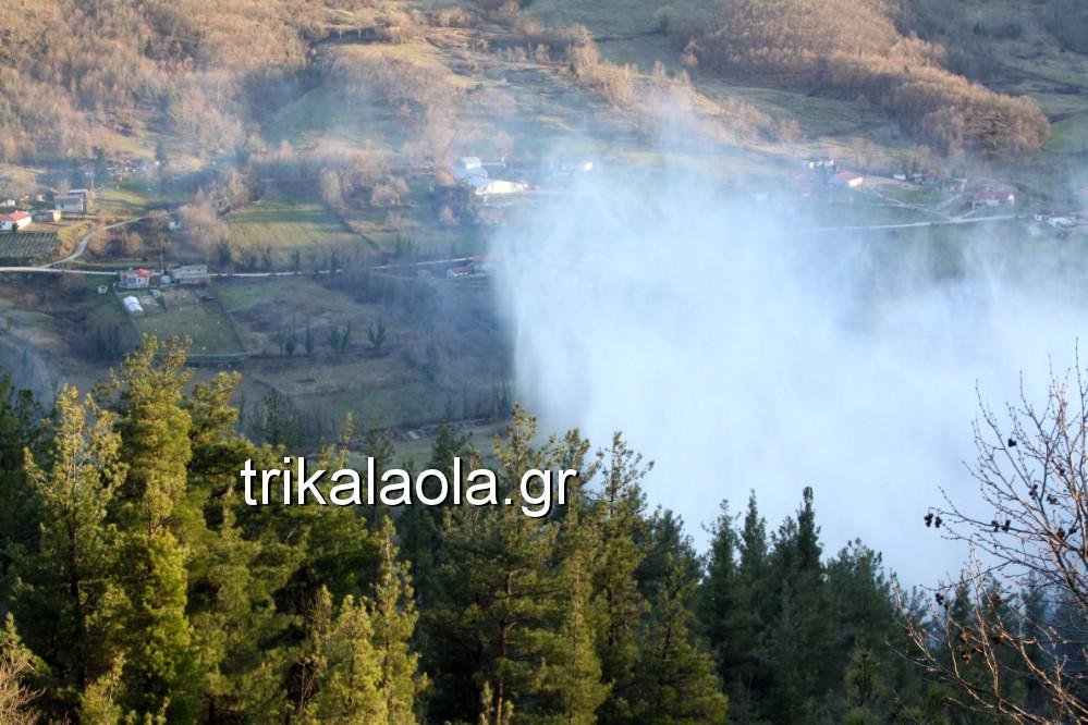 fotia loggies pylh trikalon 2019 52 - Μεγάλη καταστροφική φωτιά σε ορεινή περιοχή του δήμου Πύλης Τρικάλων.