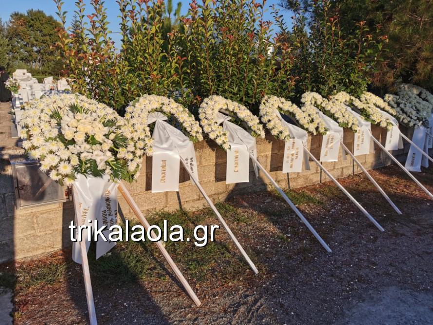 khdeia gkamplionhs alexandros 14 - Σπαραγμός στην κηδεία του 25χρονου Τρικαλινού αστυνομικού