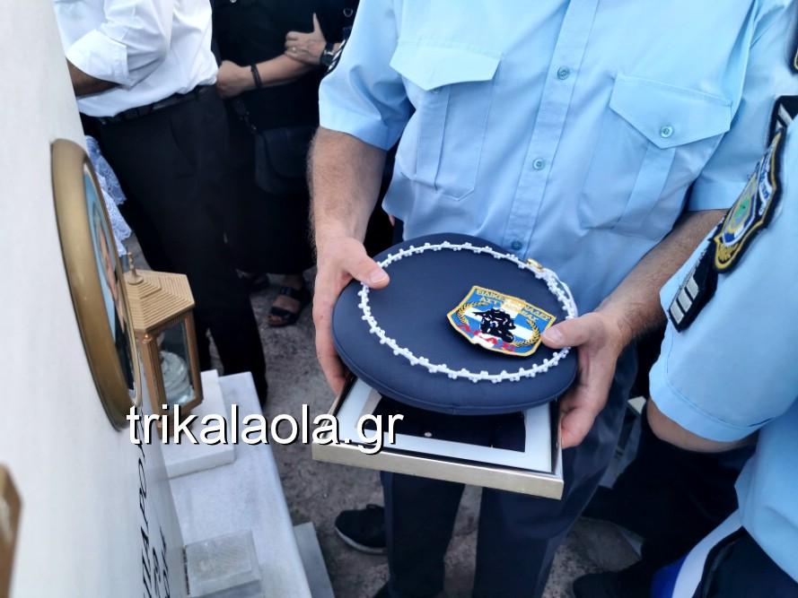 khdeia gkamplionhs alexandros 24 - Σπαραγμός στην κηδεία του 25χρονου Τρικαλινού αστυνομικού