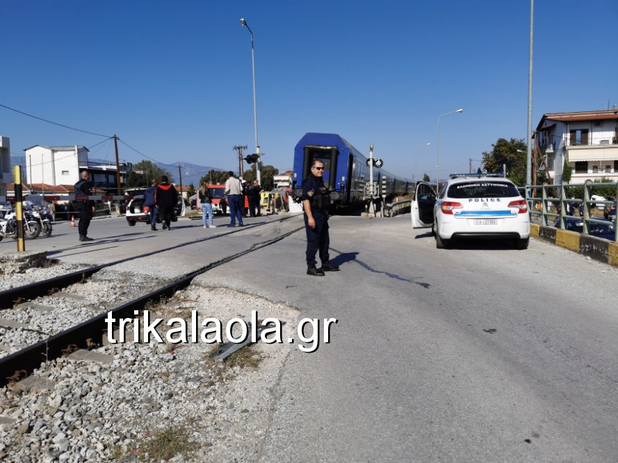 treno sygkroysh nekrh pyrgetos 2 - Tρένο παρέσυρε αυτοκίνητο που οδηγούσε 73χρόνη τρικαλινή