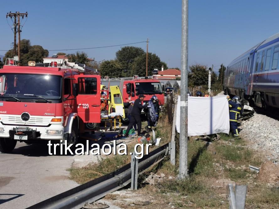 treno sygkroysh nekrh pyrgetos 3 - Tρένο παρέσυρε αυτοκίνητο που οδηγούσε 73χρόνη τρικαλινή