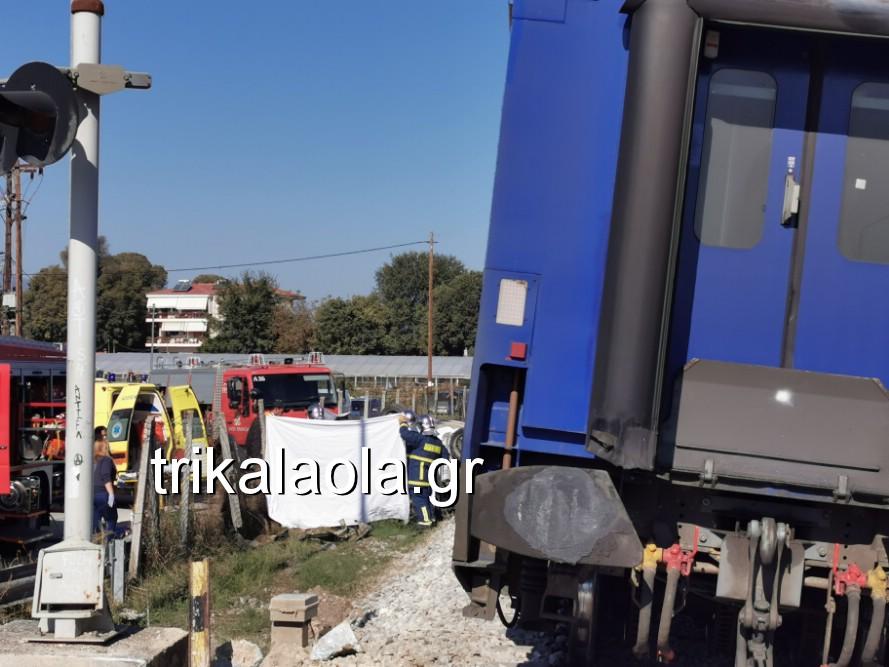 treno sygkroysh nekrh pyrgetos 4 - Tρένο παρέσυρε αυτοκίνητο που οδηγούσε 73χρόνη τρικαλινή