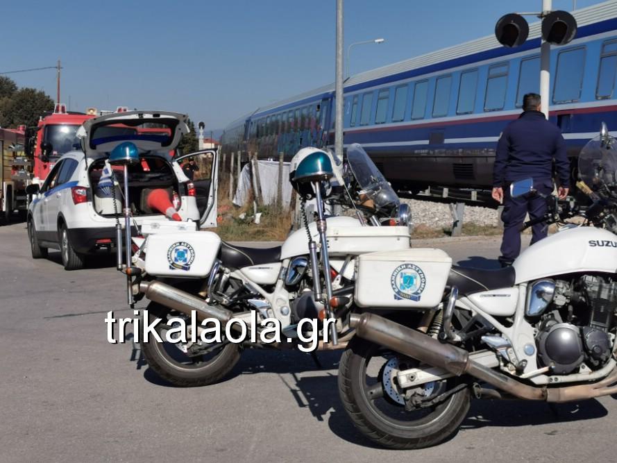 treno sygkroysh nekrh pyrgetos 5 - Tρένο παρέσυρε αυτοκίνητο που οδηγούσε 73χρόνη τρικαλινή