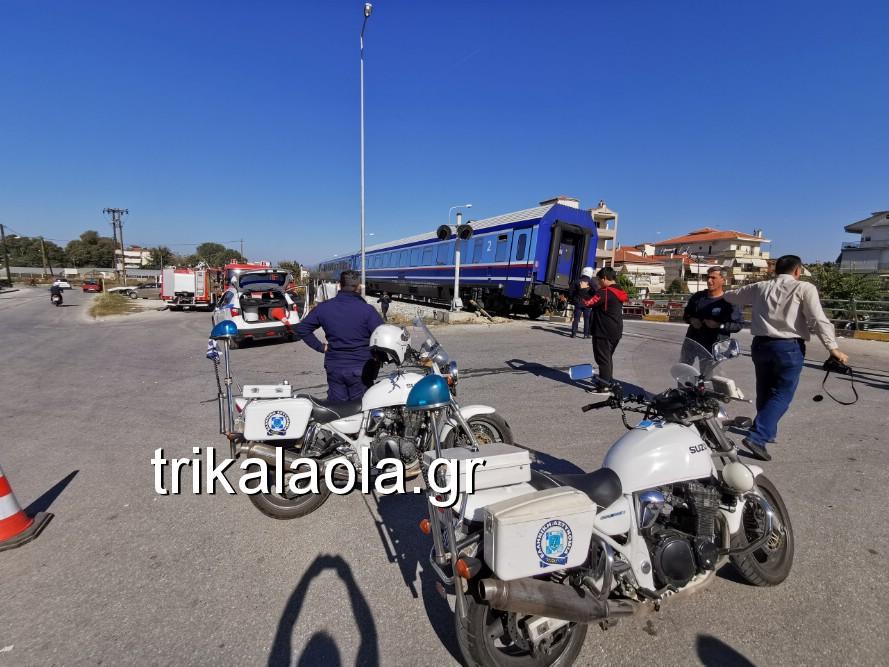 treno sygkroysh nekrh pyrgetos 6 - Tρένο παρέσυρε αυτοκίνητο που οδηγούσε 73χρόνη τρικαλινή