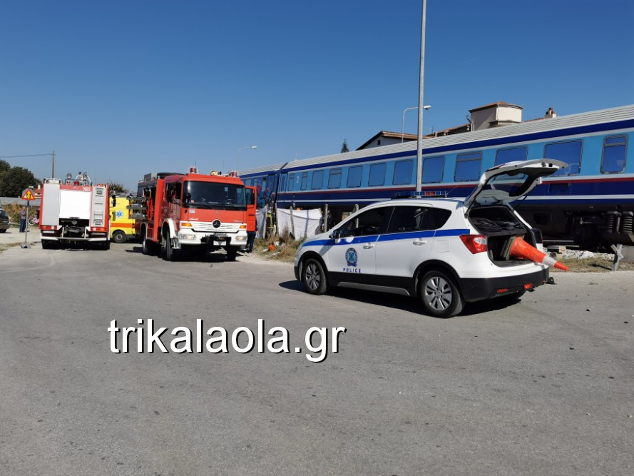treno sygkroysh nekrh pyrgetos 7 - Tρένο παρέσυρε αυτοκίνητο που οδηγούσε 73χρόνη τρικαλινή